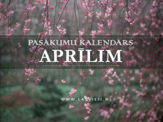 Kalendars aprilim