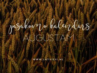 Pasākumi augustā