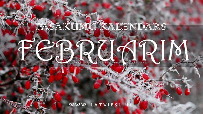 kalendārs februārim