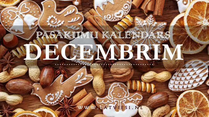 Kalendars decembrim