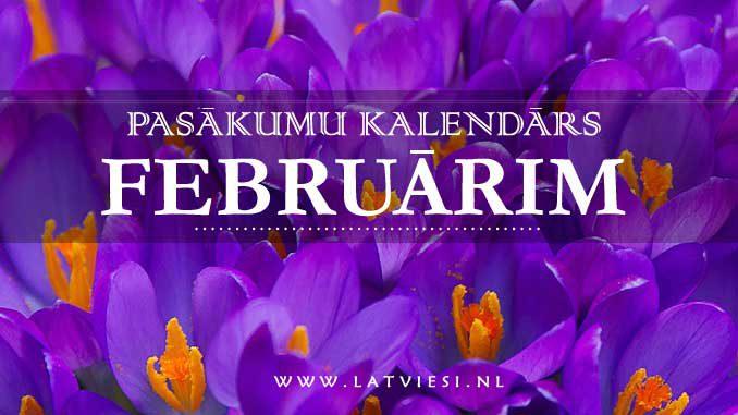 Kalendars februarim