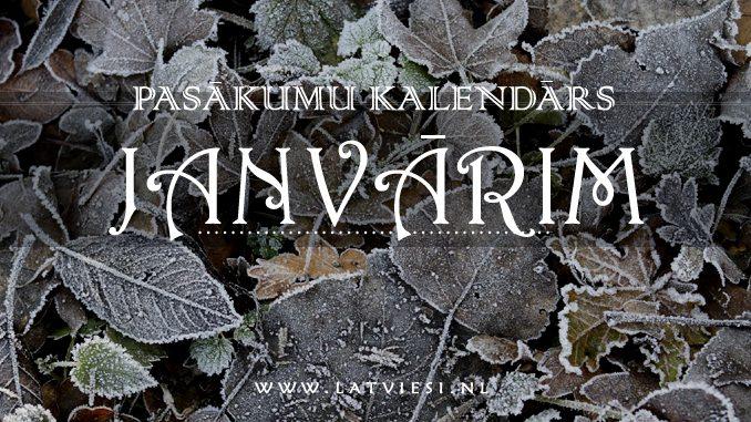Kalendārs janārim