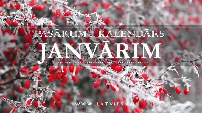 Kalendars janvarim