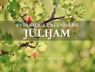 Kalendars julijam