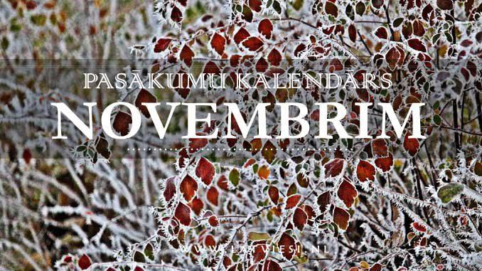 Kalendars novembrim