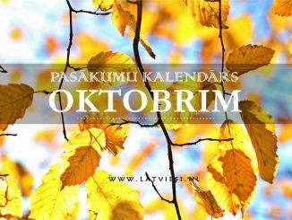 Kalendars oktobrim