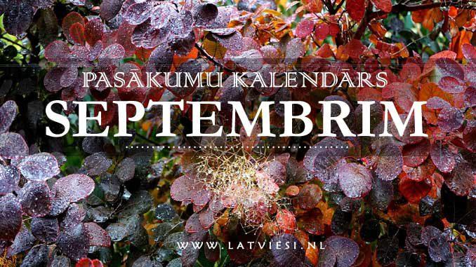 Kalendars septembrim